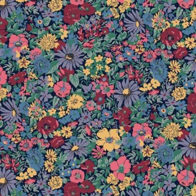 Liberty Quilting Stof fabrics Winter Flower Show Malvern Meadow 04775726C