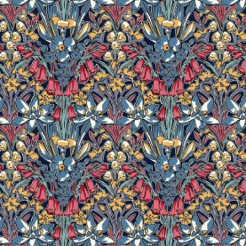 Liberty Quilting Stof Fabrics Winter Flower Show Adlington Hall 04775716C