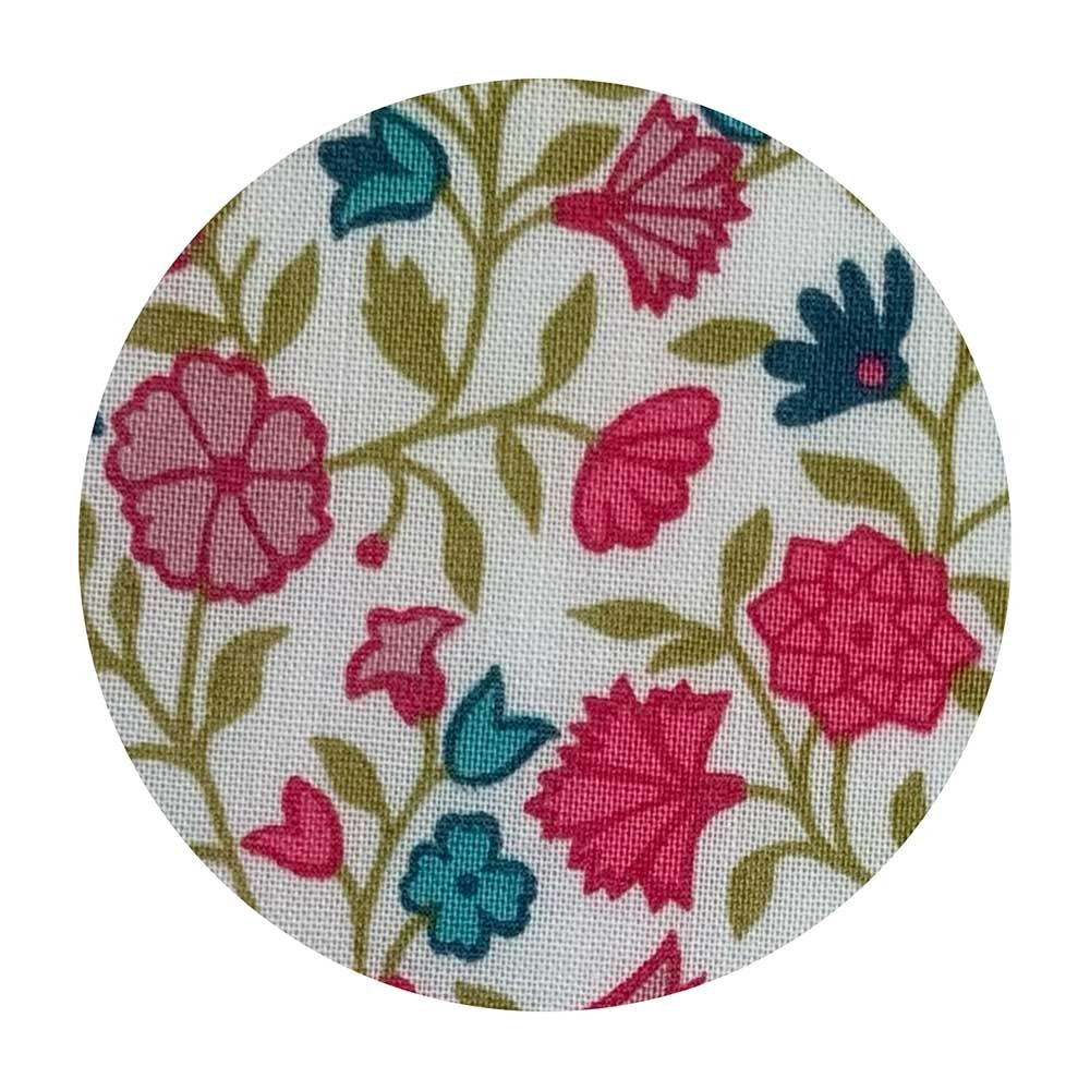 Liberty stof knapper fabrics Queen's Gallery 036302141C 11, 15, 20, 25 og 32 mm