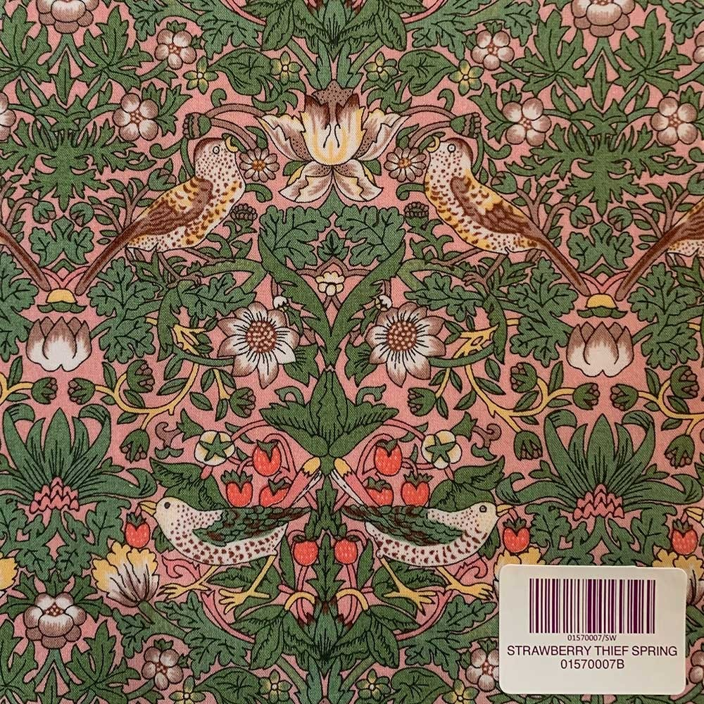Liberty stof fabrics Strawberry Thief Spring 01570007B