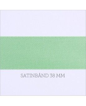 Satinbånd mint 38mm