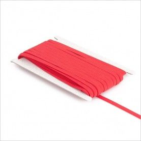 Elastikbånd rød 8mm 1rl./25m