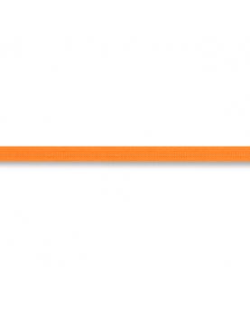 Strikket bånd neon orange 6mm