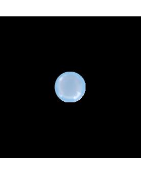 Knap rund lyseblå 13mm