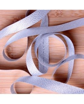 Skråbånd sølv - 3meter