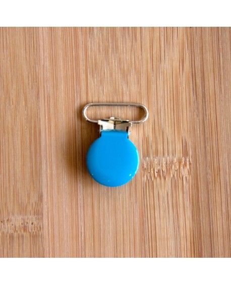 Seleclips rund blå