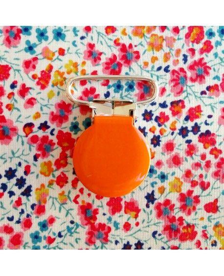 Seleclips rund orange