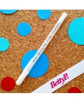 Clover makering pen hvid