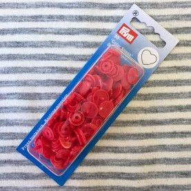 Plast trykknapper - Rød