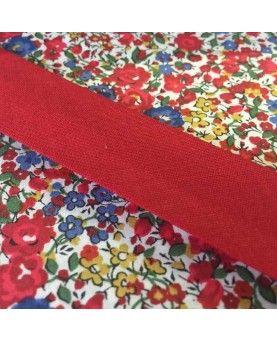 Skråbånd 2,5cm rød