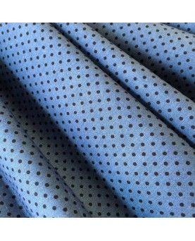Prikket blå