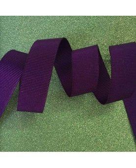 Grosgrain bånd lilla 15mm