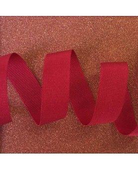 Grosgrain bånd Pink 15mm