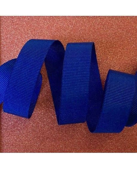 Grosgrain bånd Blå 15mm