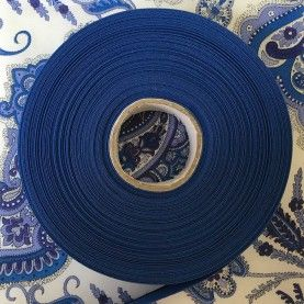 Skråbånd kobolt blå - 1 rulle