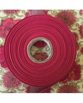 Skråbånd pink - 1 rulle