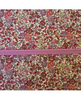 Tittekant bomuld - gammel rosa