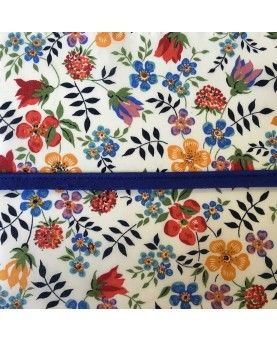 Tittekant bomuld - Koboltblå