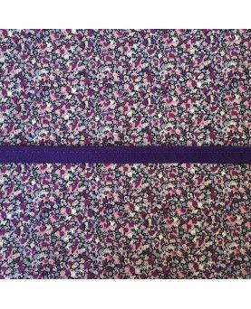 Tittekant bomuld - Mørk lilla