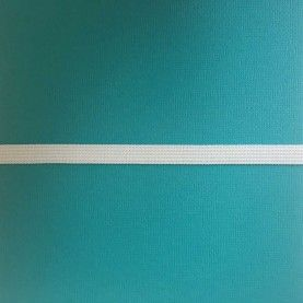 Hvid elastik - 1 cm