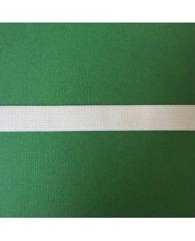 Hvid elastik - 2 cm