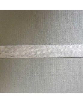 Hvid elastik - 2,5 cm