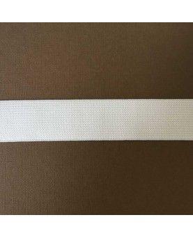 Hvid elastik - 3 cm