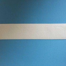 Hvid elastik - 3,5 cm