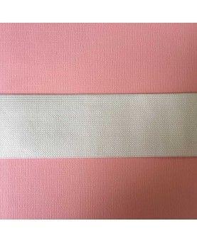 Hvid elastik - 5 cm