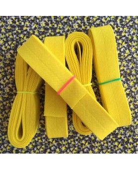 Skråbånd stærk gul - 3 meter