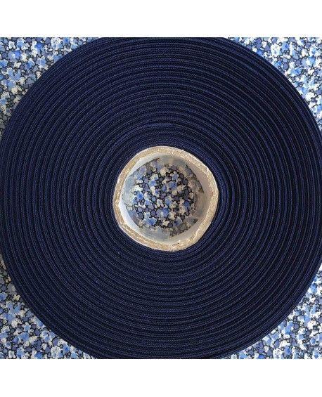 Skråbånd mørkeblå - 1 rulle