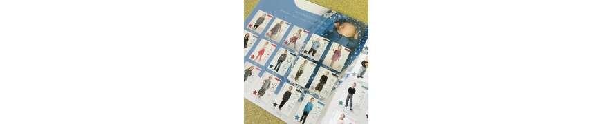 Med mønstre fra Minikrea kan du sy skønt tøj til både små og store børn i alderen 0 - 16 år.