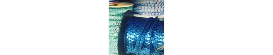 Pailletbånd i skønne farver